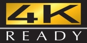 4K ready logo