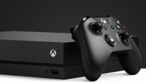 Xbox One X met HDMI 2.1 poort