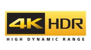 4K HDR logo