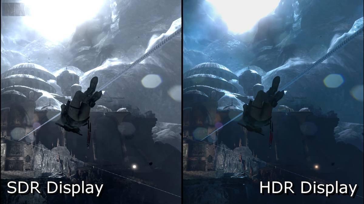Gaming in HDR